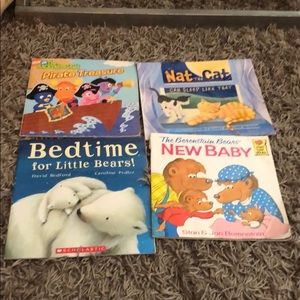 2 sets of 4 books for $10 Kid's Books